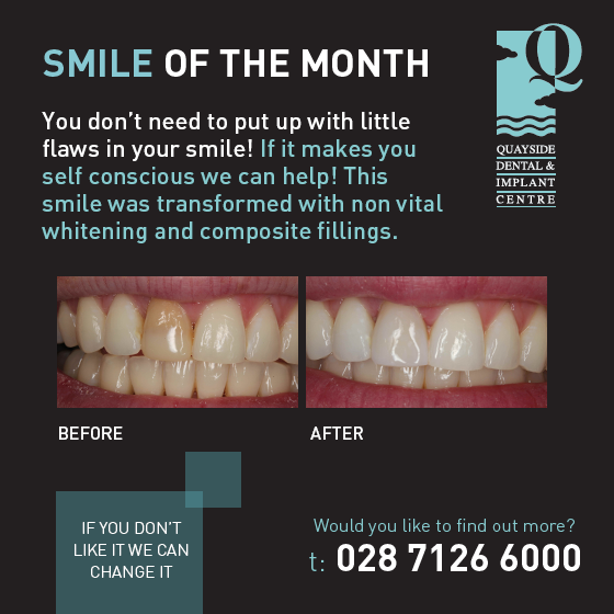 smile of the month July 2018